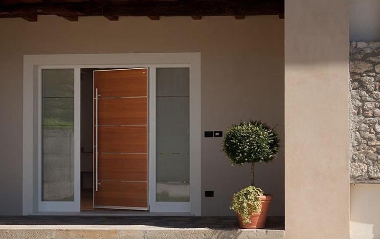 Vendita porte d 39 ingresso a brescia am serramenti for Porte d ingresso
